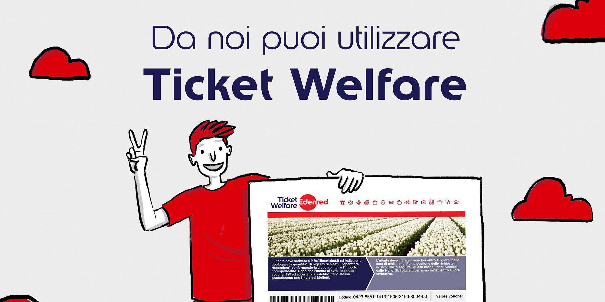 Ticket Welfare con Edenred Italia